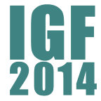 Check out what I'll be attending at IGF 2014